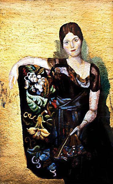 Olga - After Picasso - 275 x 180 cm - C-Print