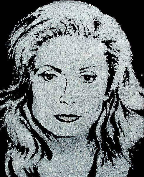 Catherine Denueve (Diamond Divas) - 100 x 80 cm - c-print - Série diamante