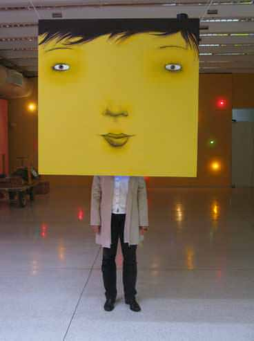 Luminescência,2008 - mista sobre madeira - foto Vilma Slomp