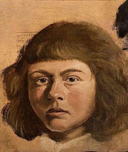 ECKHOUT, Albert Retrato de Menino, 1637
