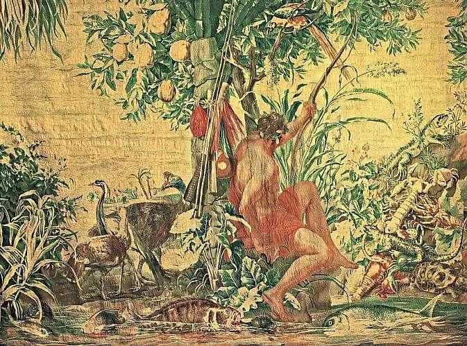 Exposição Brasiliana Itaú, na Pinacoteca do Estado. Obra de Eckout