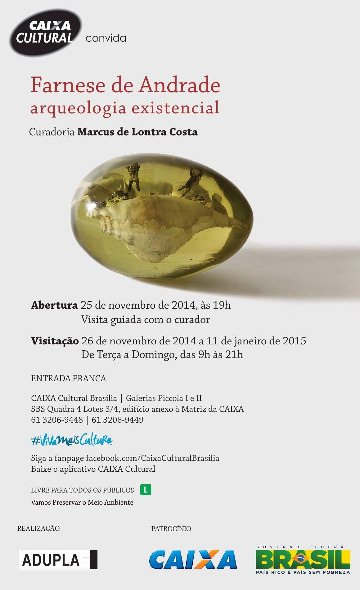Exposição na Caixa Cultural – Farnese de Andrade