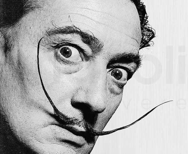Salvador Dalí no Instituto Tomie Ohtake