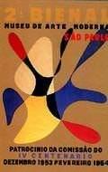 Cartaz da IIª Bienal Internacional de São Paulo