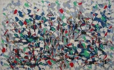 Amazonas guerreando, ost, 89x146, 1958