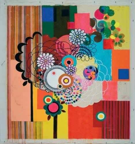 Panamericam; ast, 198x179, 2004.