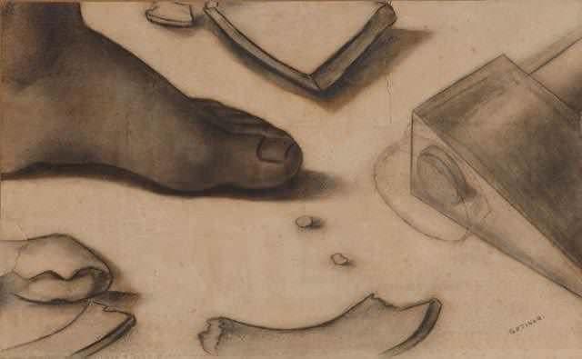 O pé e o machado