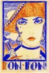 Capa da revista Fon-Fon ilustrada por Di Cavalcanti