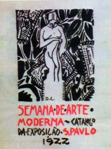 Capa do catálogo da Semana de autoria de Di.
