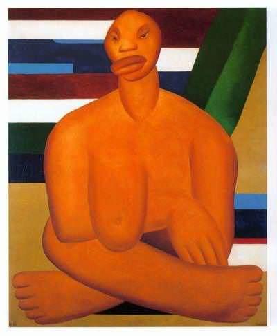 A negra; ost, 100x80, 1923.