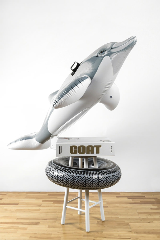 Jeff Koons - Goat: A Tribute to Muhammed Ali (Champ's edition) book; with Radial Champs