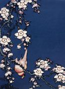 Vik Muniz - Bullfinch and Weeping Cherry, from Small Flowers, after Hokusai