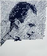 Vik Muniz - Retrato de Lee Harvey Oswald